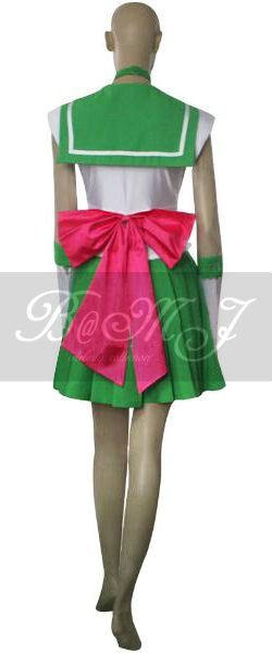 Sailor Moon Lita Kino Sailor Jupiter Cosplay Costume