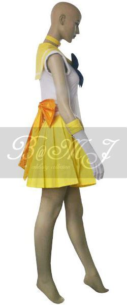 Sailor Moon Mina Aino Sailor Venus Cosplay Costume