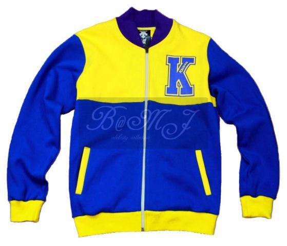 Slam Dunk Kainan Long Sleeve Yellow Jacket Cosplay