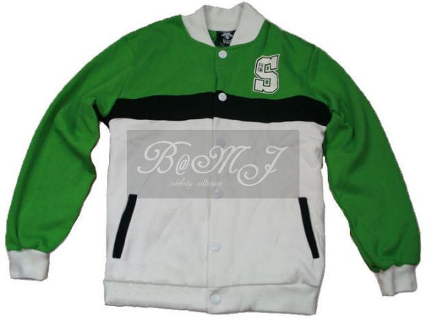 Slam Dunk Shoyo Long Sleeve Green Cosplay Jacket - Click Image to Close