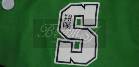 Slam Dunk Shoyo Long Sleeve Green Cosplay Jacket