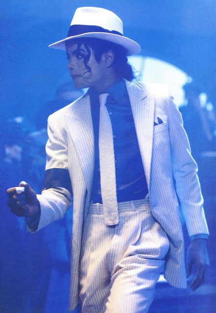 Michael Jackson Smooth Criminal White Hat