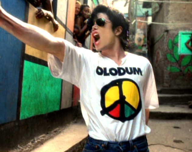 Michael Jackson They Don't Care About Us Olodum T shirt