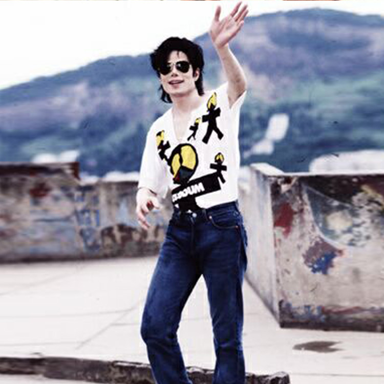 Michael Jackson They Don't Care About Us Olodum V T shirt