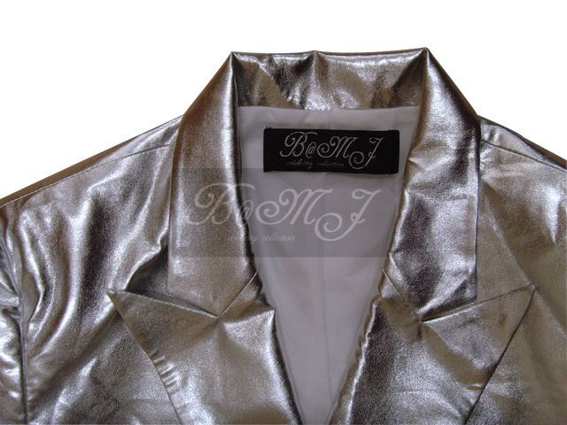 Michael Jackson This Is It Silver Jacket