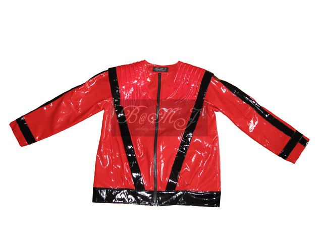 Michael Jackson This Is It DVD Extra Thriller Jacket in Red