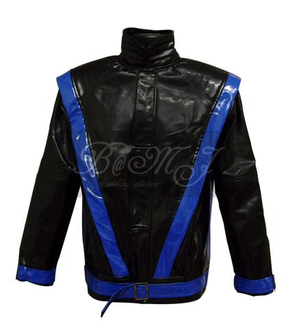 Michael Jackson Thriller Dream Black & Blue Jacket