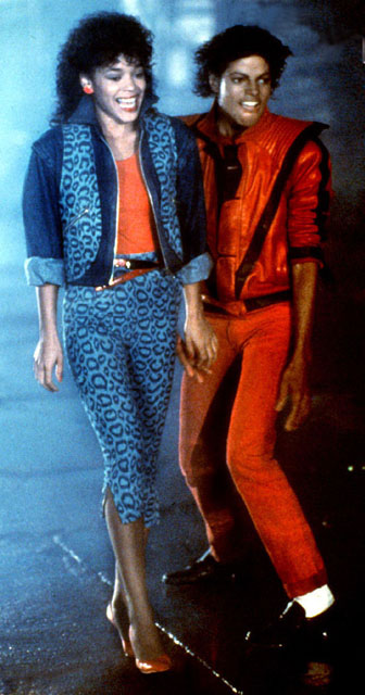 Michael Jackson Thriller Pants Actress Blue