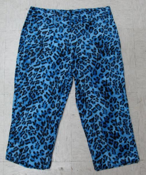 Michael Jackson Thriller Pants Actress Blue