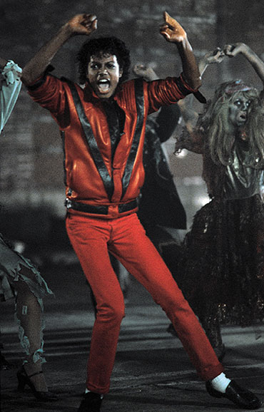 Michael Jackson Thriller Red Trousers