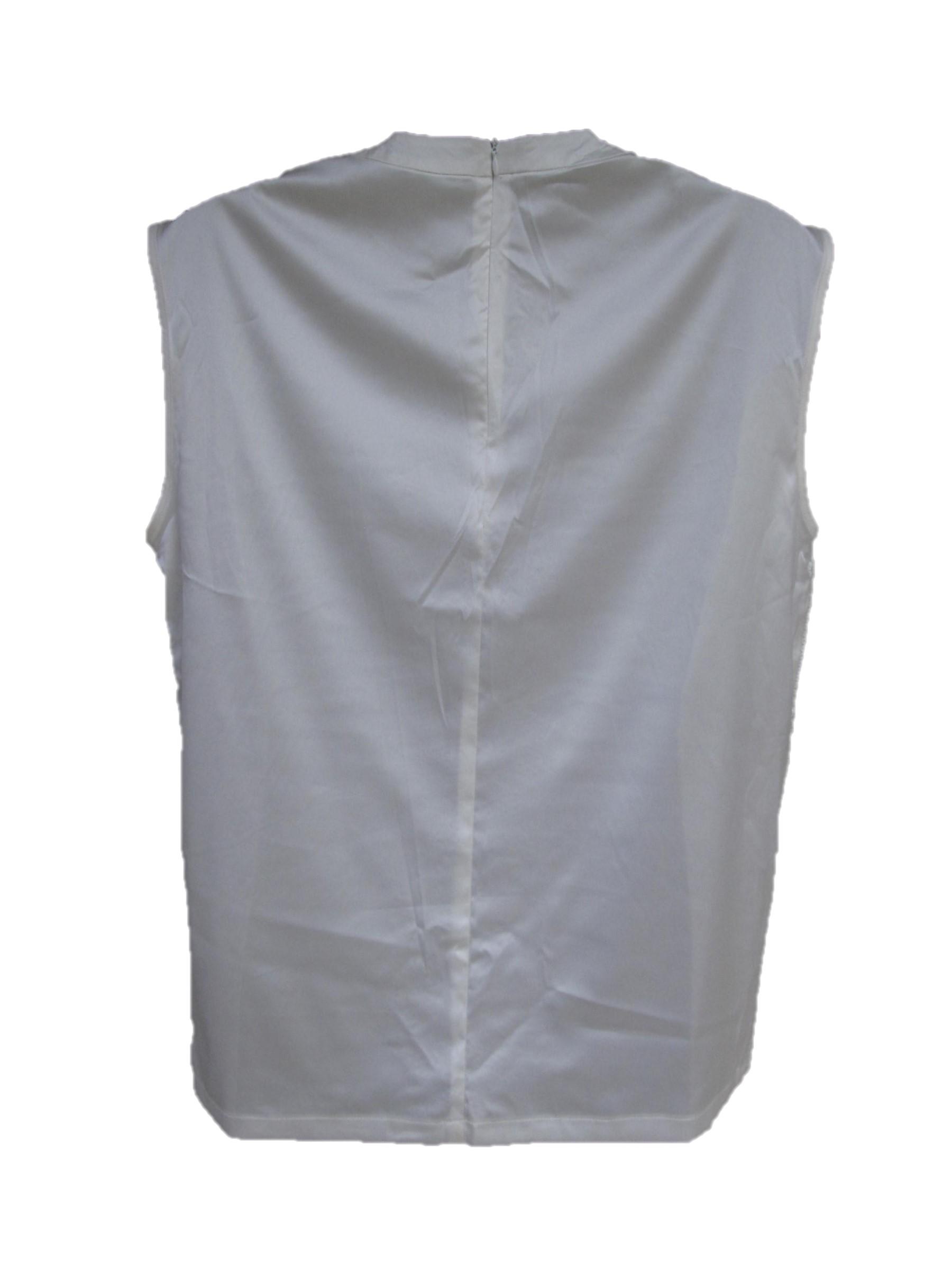 Michael Jackson Victory Tour White Sequins Shirt