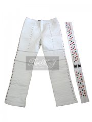 Michael Jackson Captain EO pants and belt