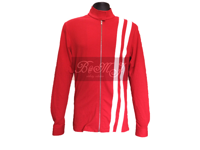 Elvis Presley Speedway Jacket in Red - Click Image to Close